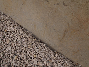 White Aggregate Close Up
