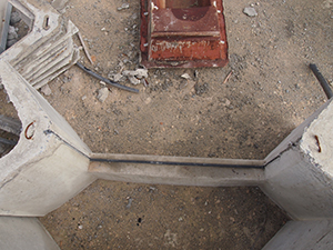 Irrigation Gates From Above