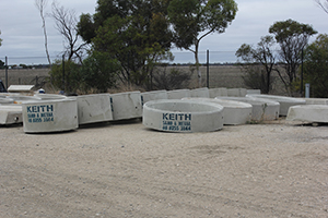 Round Troughs from Keith Sand and Metal